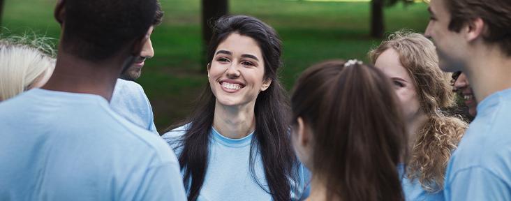 Young People Volunteering